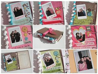 Guest book collage